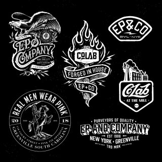 CoLab logo designs 2018 Mill Warehouse eagle fire horses