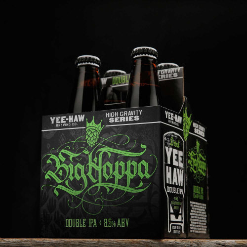 Yee Haw Brewing Calligraphy Big Hoppa package