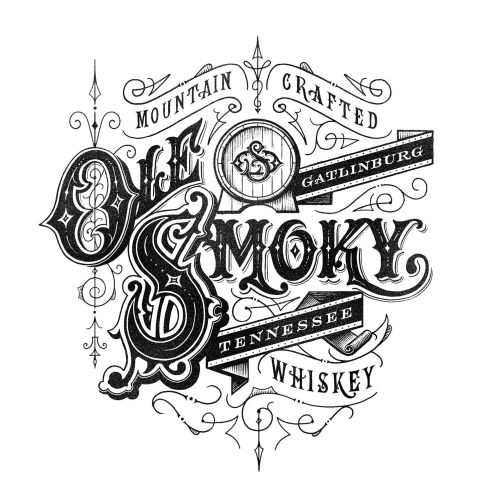 Logo Design for Ole' Smokey Moonshine
