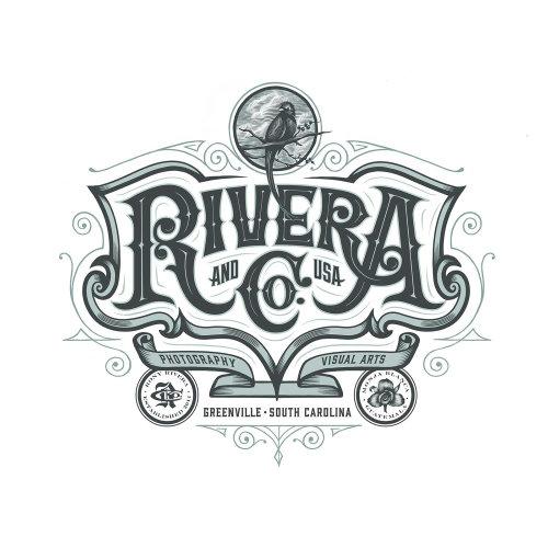 Tipografía personalizada caligrafía de letras a mano diseño de logotipo tipografía