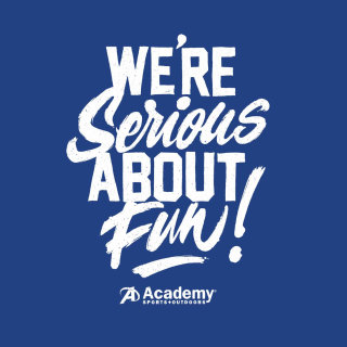 "Tagline design for academy ""Serious about Fun"""