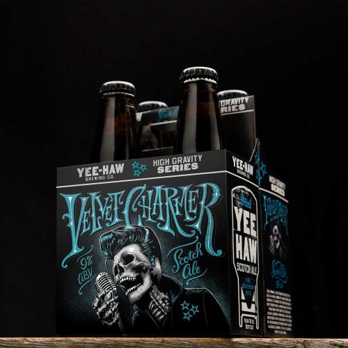 Package Design for Brewery Client Yee-Haw Brewing Company