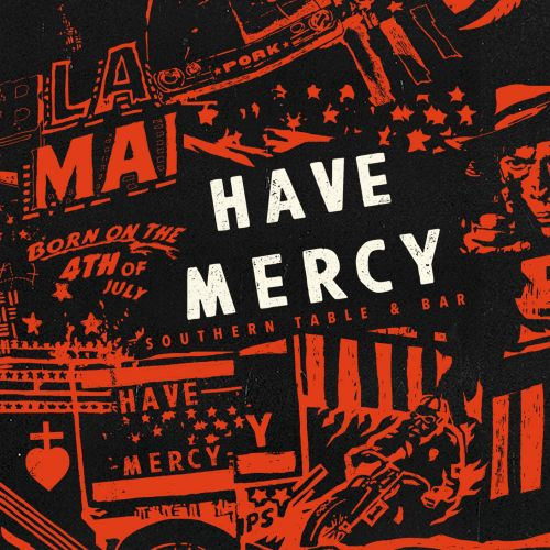 Have Mercy Mural Illustration