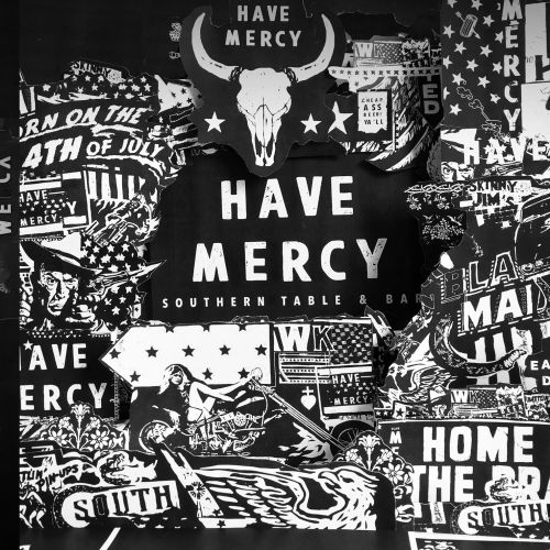 Have Mercy typography