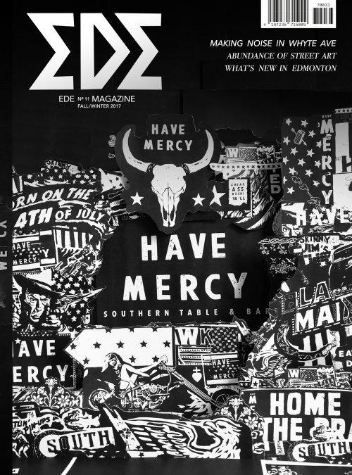 Have Mercy typography