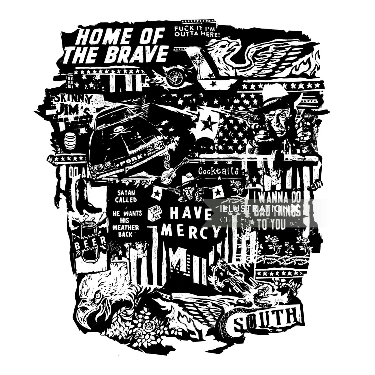 Home of the Brave Historical montage