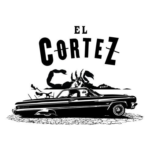 Typography EL Cortez and scorpion