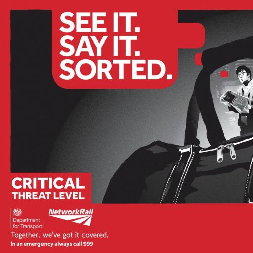 people safety campaign for railway