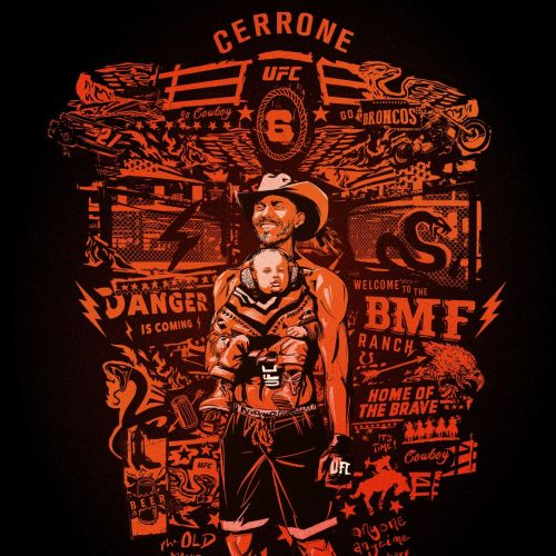 Montage mash up Cowboy Cerrone Portrait UFC