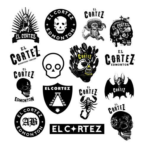 Logo mural art