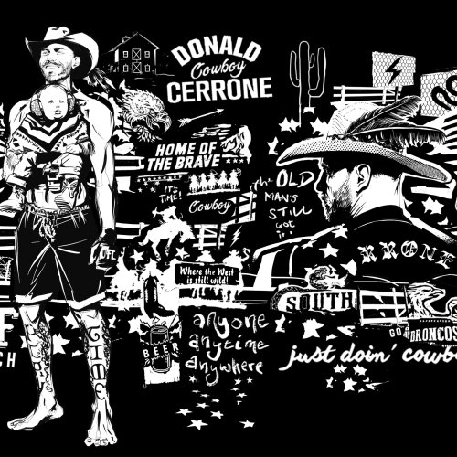 Cartaz do UFC Cowboy Cerrone Portrait UFC