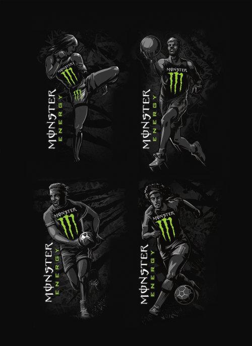 怪物能量运动可以图