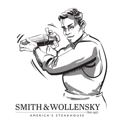 graphic of bar smith & wollensky