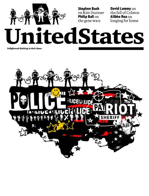 Éditorial Affiche de la police des États-Unis