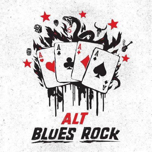 Graphic cards alt blues rock