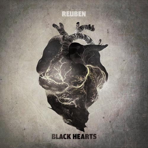 心脏解剖的黑白插图
