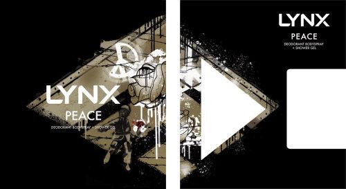Graphic LYNX peace