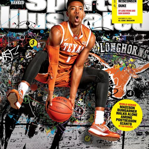 Basketball cover illustration by Chris Ede