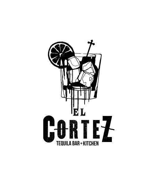 Graffiti Illustration Of Tequila For El Cortez