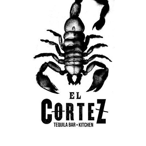scorpion skull black and white art