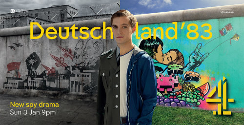 The Deutschland 83 Ad Campaign Mural Painting
