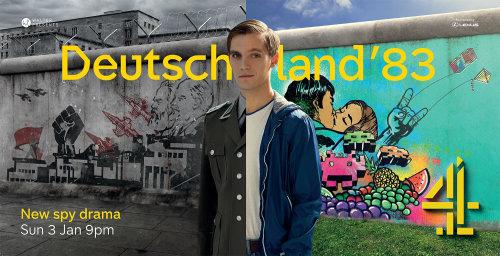 德国83广告活动壁画