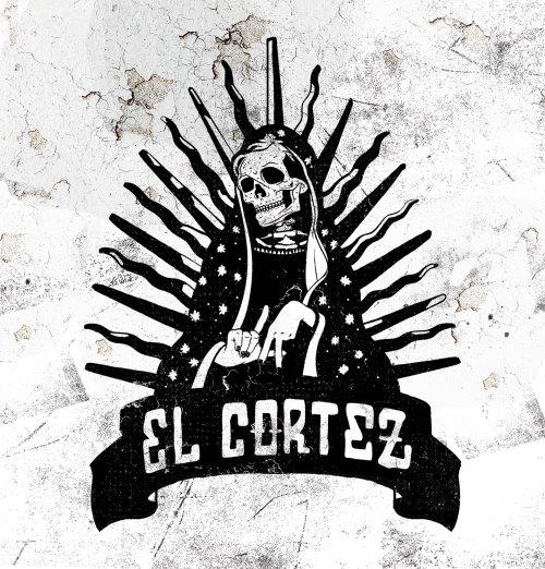 El Cortez Mexico skull street art