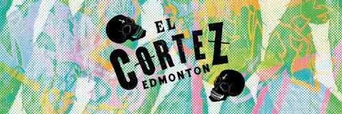 Graphic El Cortez Edmonton colorful background