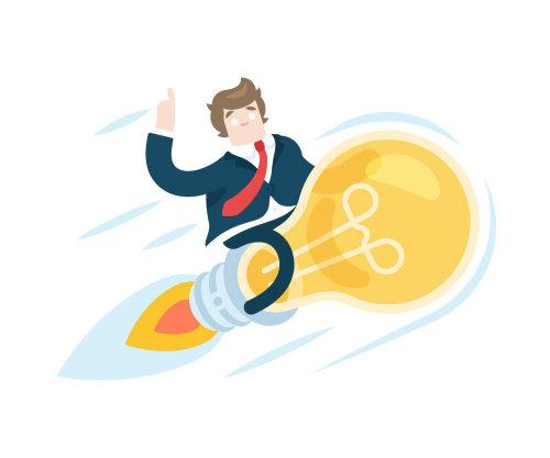 Entrepreneur illustration