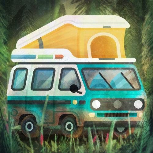 VW Camper pour les vacances