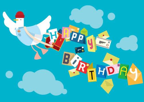 Diseño de tarjeta de cumpleaños por Chris Gilleard
