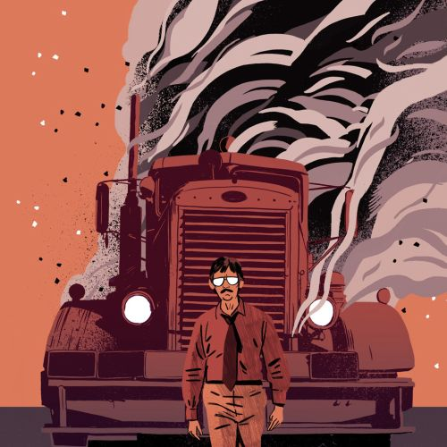 Chris King Retro Illustrator from UK