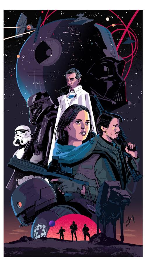 collage de star wars rogue one