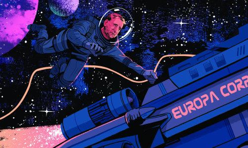 luc besson como astronauta