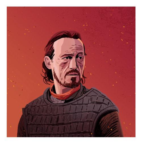 从权力的游戏布朗的肖像