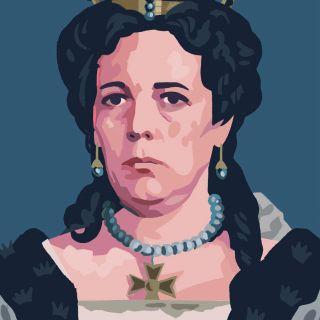 olivia colman portrait