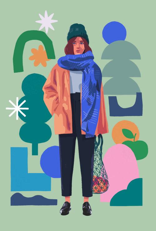 Ilustración de moda por Chris