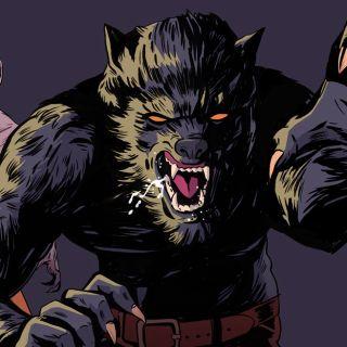 dangerous warewolf artwork
