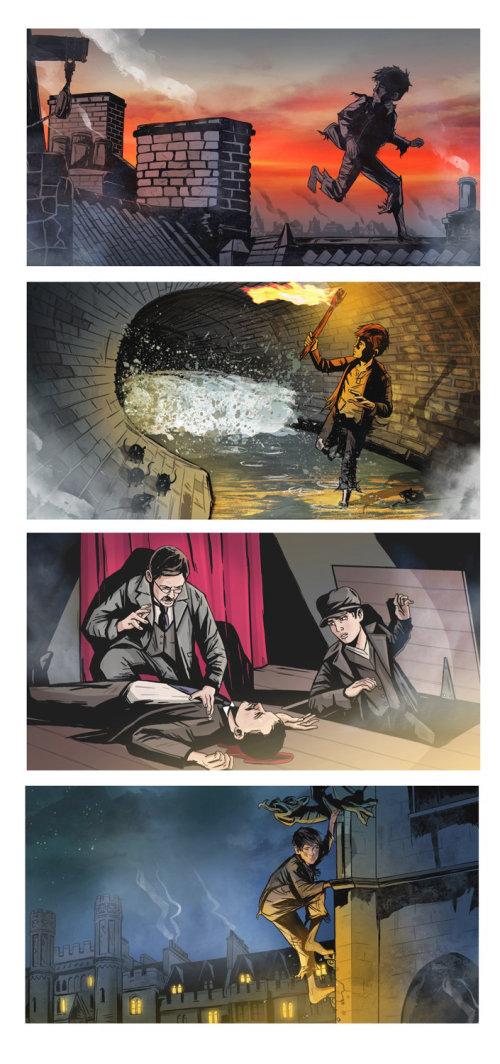 cubierta para misterios de asesinato de Londres seleccionados