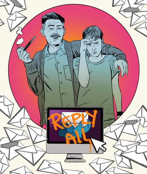 reply all illustration