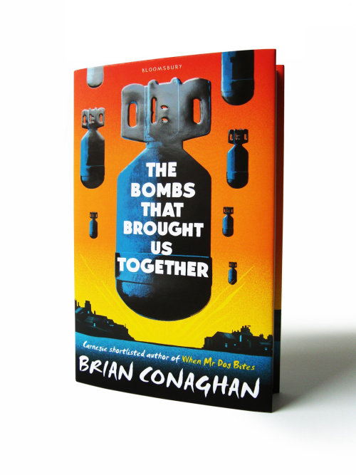 An illustration of cover for the bombs