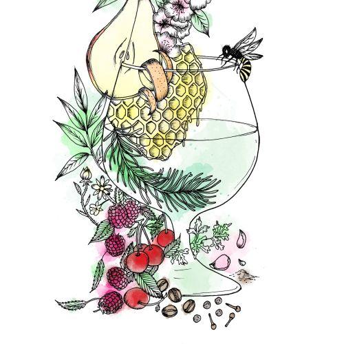 Chrissy Lau Intrincado ilustrador de líneas. Australia