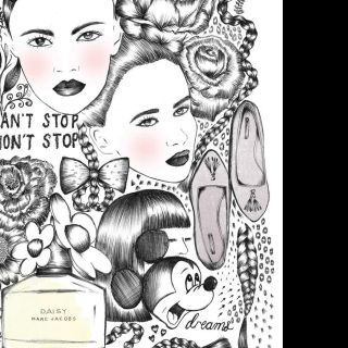 Fashion Beauty Illustration