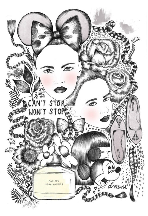 Fashion Beauty Illustration