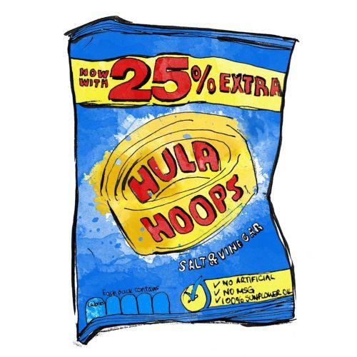 HULA HOOPS CRISPS FOOD