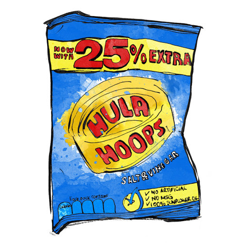 HULA HOOPS CRISPS FOOD