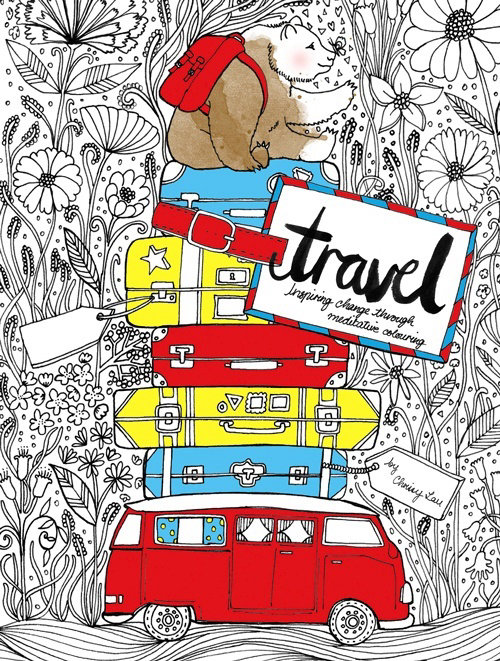 Lifestyle illustration of travel
