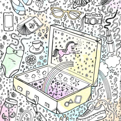 Chrissy Lau Intricate line illustrator. Australia