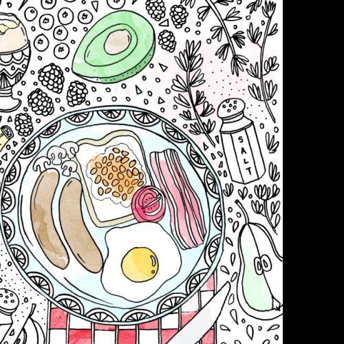 Food illustration by Chrissy Lau