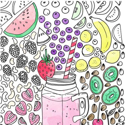 Fruit juice graphic design